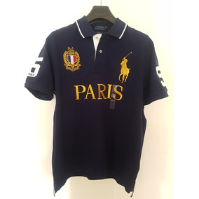 Playera Polo Ralph Lauren City Alusiva A Paris S Y M ! 4026df8bc8957