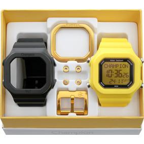 0c120fcd88b Pulseira Champion Yot Preta - Relógios no Mercado Livre Brasil