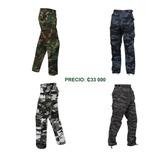Pantalon Cargo Militar Camuflado