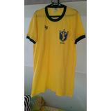 Camisa Brasil Copa 1982 - Camisas de Futebol no Mercado Livre Brasil 7cd5dfb28eb16
