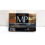 Cassette Virgen Tdk Mp 90 Hi8 Video