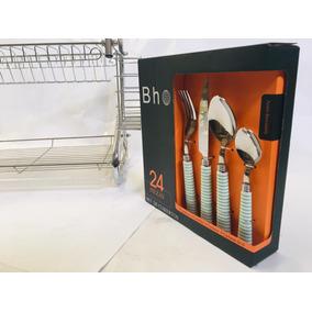 Cocina Porta Cubiertos De Metal Cromado - Todo para Cocina en ... 029bdac4c4b7