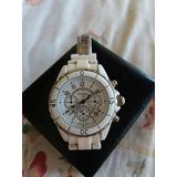 006887a17fc Relógio Chanel J12 Chronograph Original Unissex