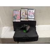 Xbox Clasica + Juegos