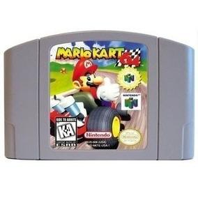 Mario Kart 64 Americano Nintendo 64 N64 Novo + Garantia