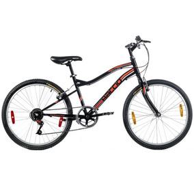 Bicicleta Niño Rodado 24 Baccio Alpina - Montaña 6 Vel