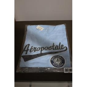 Camiseta - Aeropostale - Azul / Tam M
