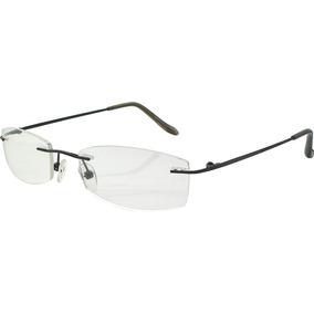 af771ad933fd6 Armação Oculos Grau Titanio Original Masculino Feminino A01 - Óculos ...