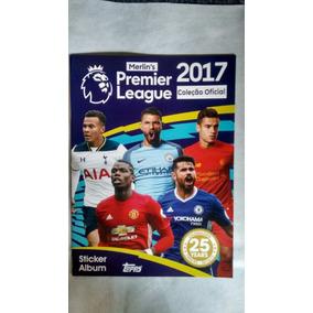 Premier League 2017,completo Com Figurinhas Soltas.90,00