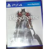 Bloodborne Ps4/juego De Ps4