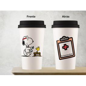 57ee17d234e Taza Vaso Tipo Starbucks Cerámica Snoppy Doctor. Envió
