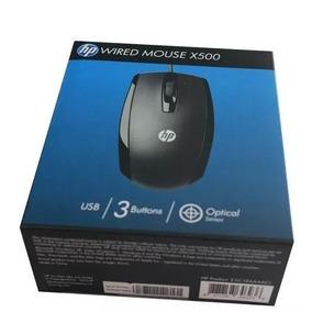 Mouse Hp X500 Optico Cable Gamer Usb 1200 Tienda!!