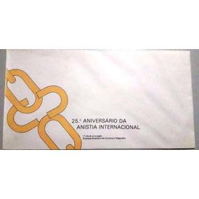 Envelope 25.º Aniversário Da Anistia Internacional