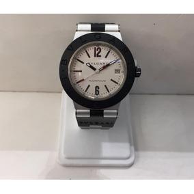 7815c6f42cf Reloj Bvlgari Dama Caratula Crema Fechador