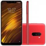 Celular Xiaomi Pocophone F1 64gb Mem 6gb Ram 1ano Garant +nf