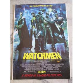 Watchmen Zack Snyder Cartaz Original De Cinema 140x100cm