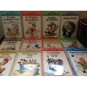 Clássicos Da Literatura Disney - 12 Hqs