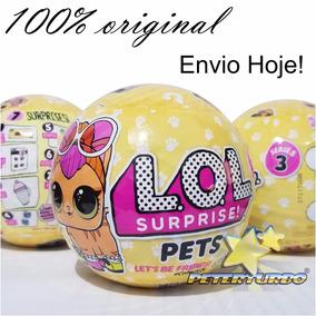 Boneca Lol Surprise Pets Série 3 Única 100% Original Mga