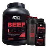 Beef Protein Isolate 1,8kg + Bcaa + Crea + Shaker - Carnivor