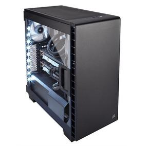 Gabinete Gamer Corsair Carbide 400c Negro Tienda Oficial Env