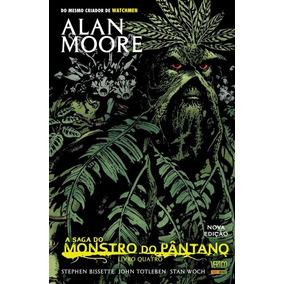 A Saga Do Monstro Do Pântano - Livro Quatro - Vertigo