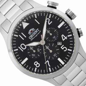 55b23600661 Relógio Orient Mbssc119 Masculino Original Mostrador Preto. R  648
