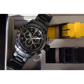 Unico! Reloj Nautica Bfc Box Set N22529g Swiss 2 Ext Nuevos
