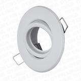 Spot De Embutir Blanco X10 + Dicroica Led 6w 7w Combo Promo