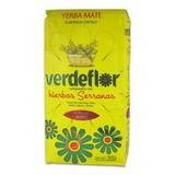 Yerba Mate Verde Flor Hierbas Serranas 1 Kilo