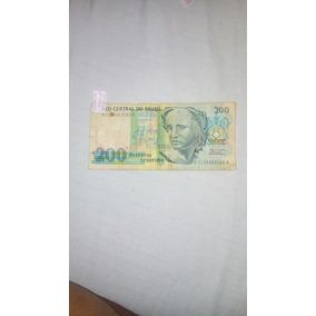 Nota Antiga Rara 200 Cruzeiros.