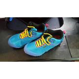 Zapatos Hiking Boots Azules Nuevos