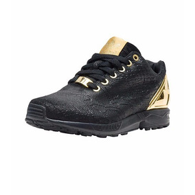 best website 4446f 20694 Tenis adidas Originals Zx Flux Blackgold Nasotafi2