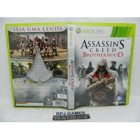 Assassins Creed Brotherhood Original Midia Fisica P Xbox 360