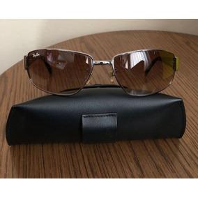 Estojo Ray Ban Marrom - Óculos no Mercado Livre Brasil 11208f518e
