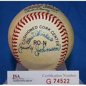 Firmado Judy Johnson Baseball - Auténtica Liga Nacional Feen dee12272c354e