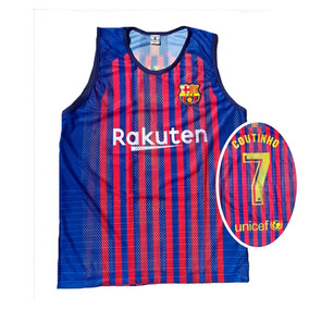 ff57e51562970 Camisa Regata Futebol Bascelona Camiseta Coutinho Adulto