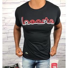 Camisetas Lacoste Live! - Calçados, Roupas e Bolsas no Mercado Livre ... 676a3fa8de