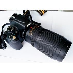 Câmera Nikon D5000 + Lente Zoom Af-s Dx Nikon 70-300mm Ed Vr