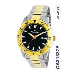 3d9067ae295 Relogio Champion Masculino Dourado - Relógio Champion Masculino no ...