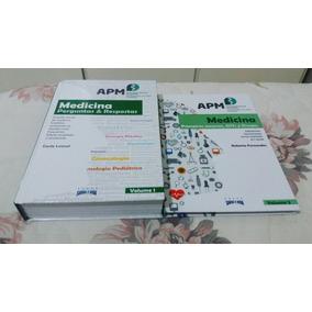 Livro Medicina Perguntas & Respostas Apm - 2 Volumes