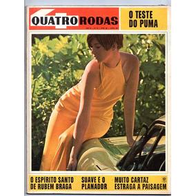 Revista 4 Quatro Rodas Nº 83 Teste Puma - Junho 1967