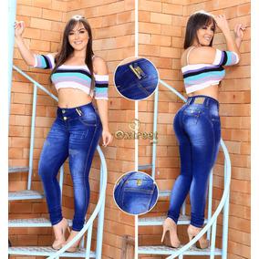 Calça Jeans Feminina Estilo Modelo Pitibull Levanta O Bumbum