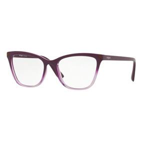 1bb63578a9ce1 Armacao De Oculos Gatinha Lilas Vogue - Óculos no Mercado Livre Brasil