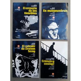 Novela Gráfica Clarín. Wilde Conrad Dostoievski Kafka. Lote