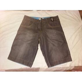 Bermunda Jeans 3 Peças 42