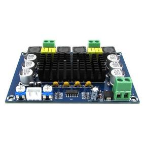 Placa Amplificador 2.0 Modulo 120+120=240w Rms Caixa Ativa