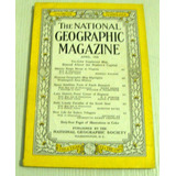 Revista National Geografic Abril Año 1956
