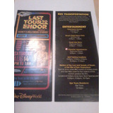 Star Wars Last Tour To Endor 2010 Catalogo Disney!!