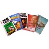 Kit: 05 Livros Diversos (tamanho Pocket)
