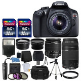 Canon Eos Rebel T6 Digital Slr Camera + Accesorios
